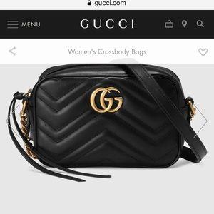 Gucci mini crossbody bag. Smaller size